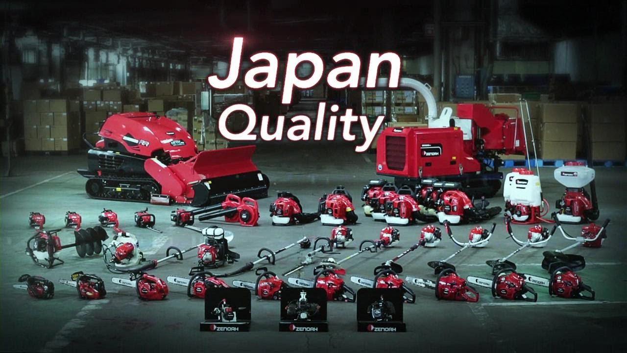 ZENOAH - Made in Japan & Japan Quality