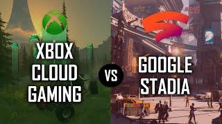 Xbox Cloud Gaming (xCloud) vs. Google Stadia: Late-2021 Comparison!