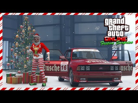 GTA Online Festive Surprise DLC 2017 Spending Spree - NEW Sentinel Classic, Christmas Items & MORE!