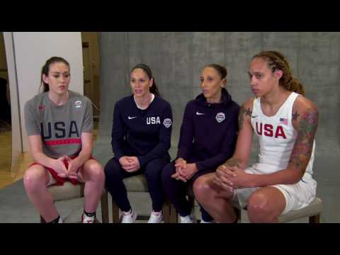 Inside Access: Get to Know the 2016 USA Basketball Women
