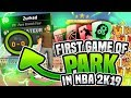 Download First Game In Park On Nba 2k19! **godly Build** De
