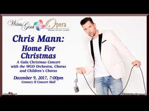Check out a special message from Chris Mann to his fans in Wichita