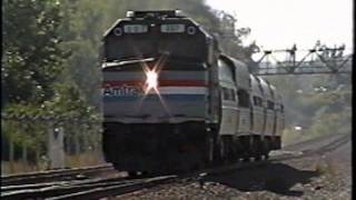 Amtrak F40 207 with PERFECT old casting P5A horn - 1999