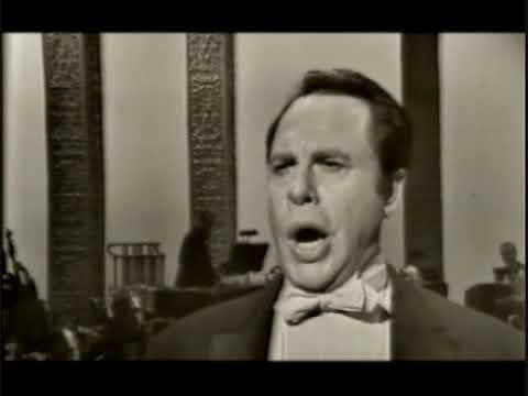 """George London. """"Abendlich strahlt der Sonne Auge"""". TV, 1962."""