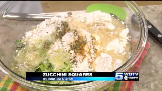 Mr. Food Test Kitchen: Zucchini Squares