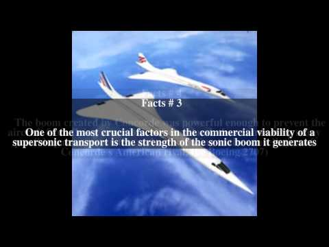 Next Generation Supersonic Transport Top # 6 Facts
