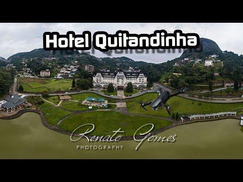 Hotel Palacio Quitandinha (vista aerea drone)