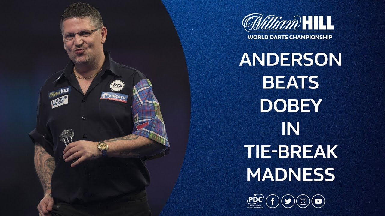 Anderson & Dobey Tie-Break Thriller! 2018/19 World Darts Championship