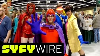 VR180   180° Three Questions   Emerald City Comic Con 2018   SYFY WIRE thumbnail