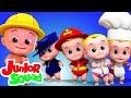 خمسة أطفال صغار | مقاطع فيديو تعليمية | مرحلة ما قبل المدرسة | Junior Squad Arabic | رسوم متحركة