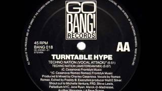 Turntable Hype - Techno Nation (Amsterdam Mix) 1992