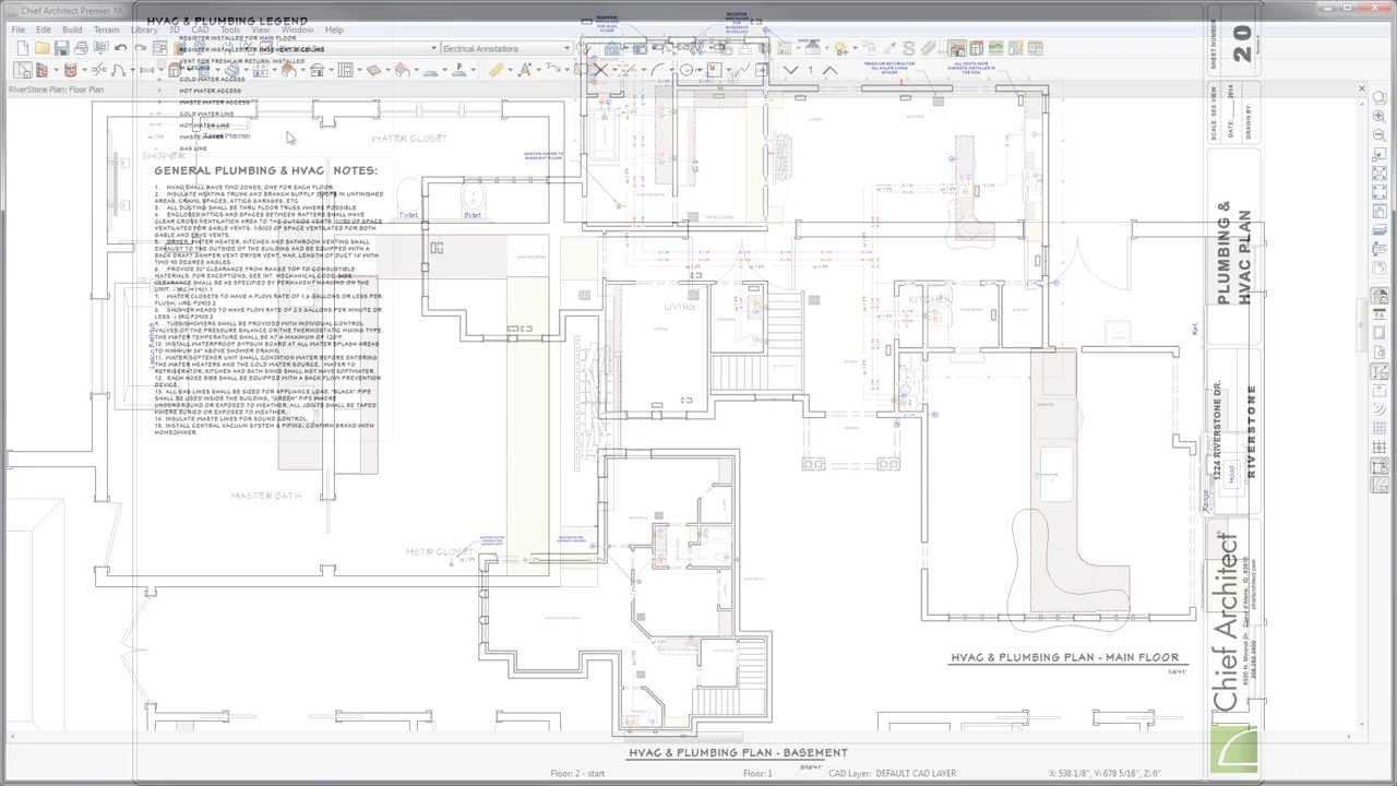 12 electrical and hvac youtube 12 electrical and hvac chief architect software malvernweather Image collections