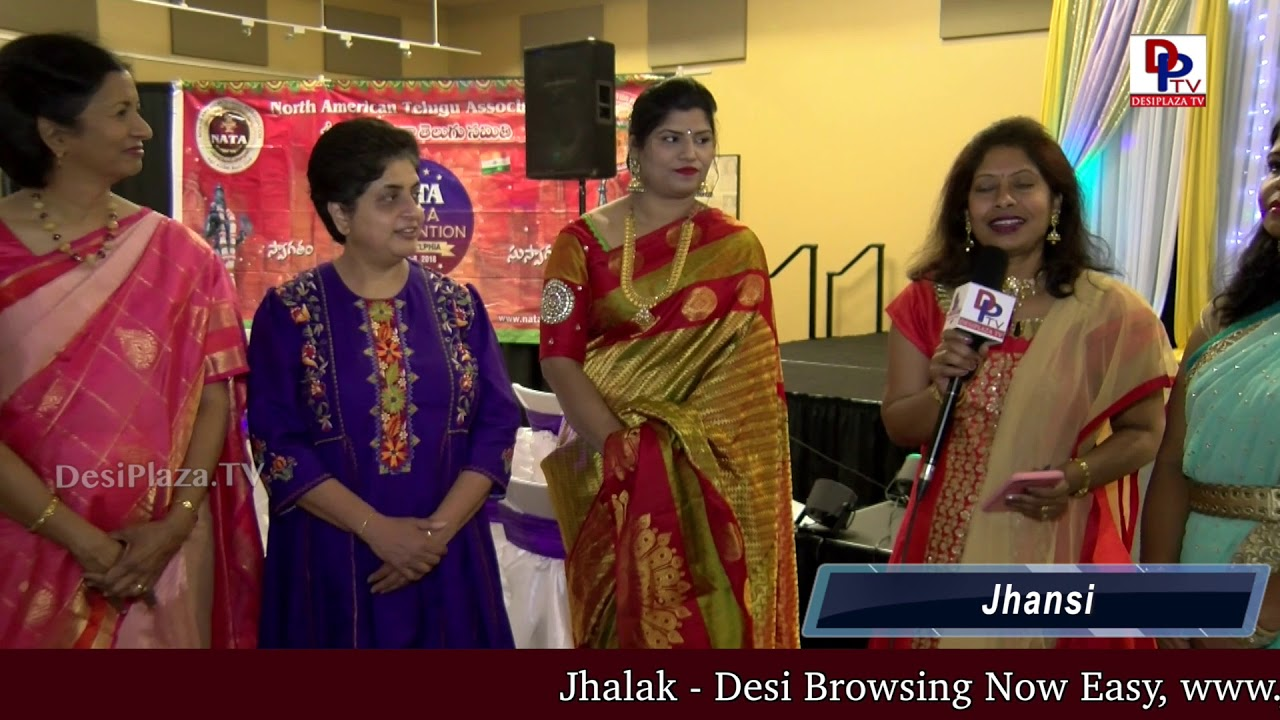 Jhansi, NATA Cultural Co-Chair thanks the guest speakers at NATA Austin International Women's Day