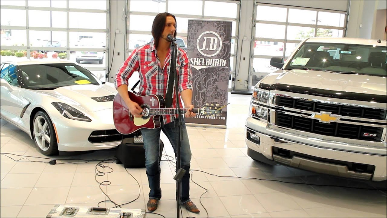 Ask The Chevy Dude JD Shelburne Singing A PLACE IN KENTUCKY Bachman - Sutherland chevrolet car show