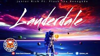Junior Rich Ft. Flash Tha Renegade - Lauderdale (The Remix) [Audio Visualizer]