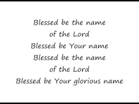 Don Moen - Blessed Be The Name Of The Lord Lyrics ...