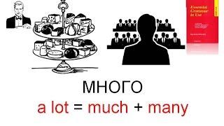 Как сказать 'Много' - a lot/much/many