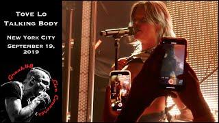 "Tove Lo - ""Talking Body"" - New York City - September 19, 2019 (Sunshine Kitty Release Show)"