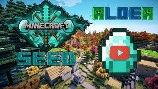 seed minecraft 1.4.5 'aldea diamante'