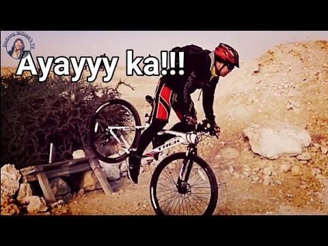 CAMP BANAYAD TRAIL RIDE, Doha, Qatar (Vlog - 04) #Trailbiking #mountainbikers #campbanayad