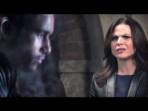 """Regina: """"We're Getting Merlin's Voicemail?"""" (Once Upon A Time S5E6)"""