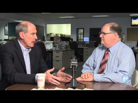 U.S. Sen. Dan Coats visits The Times