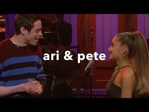 ariana grande & pete davidson | ♡cutest moments♡