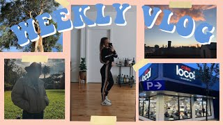 WEEKLY VLOG  @SarahsDay SOLD OUT activewear, TikTok famous Coles? + curly hair update!