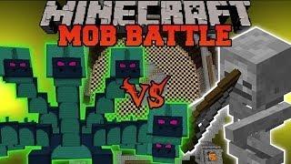 Minecraft: HYDRA VS. SKELETON - Minecraft Mob Battle - Twilight Forest Mod
