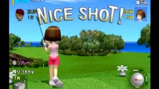 みんなのGOLF 3( PS2 ) Golf party 3rd test play for playstation sony 003Hot Shots Golf Japan