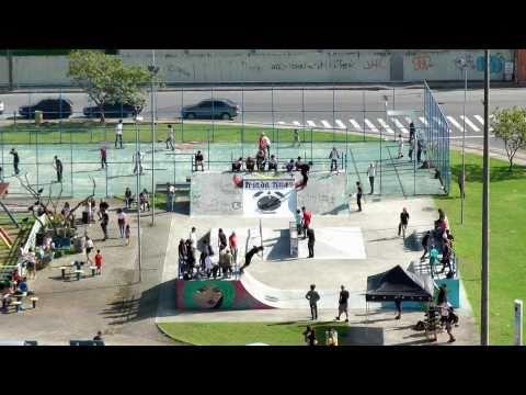 Globe Six Pack Attack Tour at Trinda Skatepark - Florianópolis / Brazil