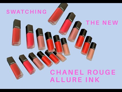 Swatching The New Chanel Rouge Allure Ink Fusion | CLEO Beauty School | CLEO Malaysia