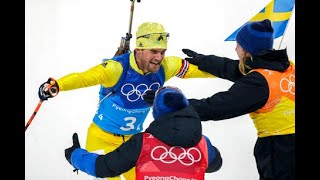 The king, the demon and a Swedish Olympic biathlon win