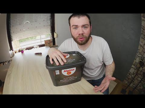 Rostoptik Alpina Farbe Wischtechnik I Unboxing 👍 [HD]