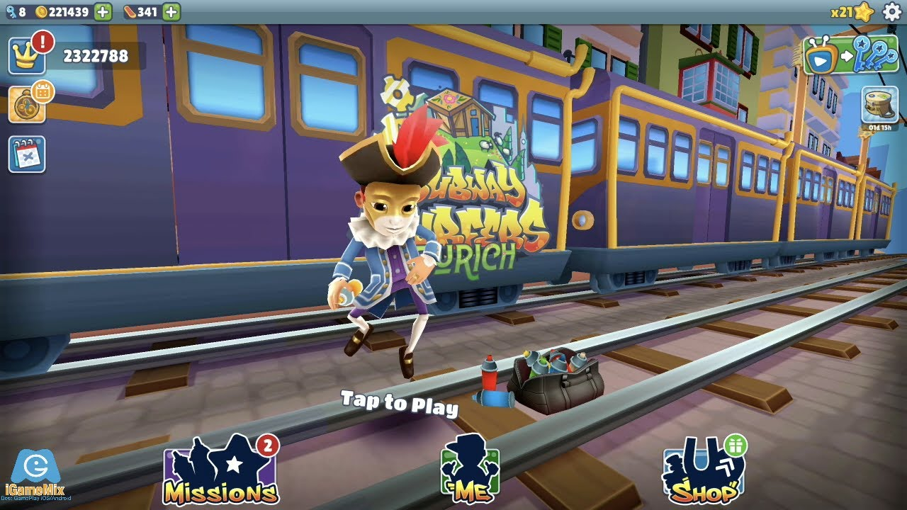 iGameBox🤠MARCO MASK OUTFIT SUBWAY SURFERS ZURICH HD FULLSCREEN #18