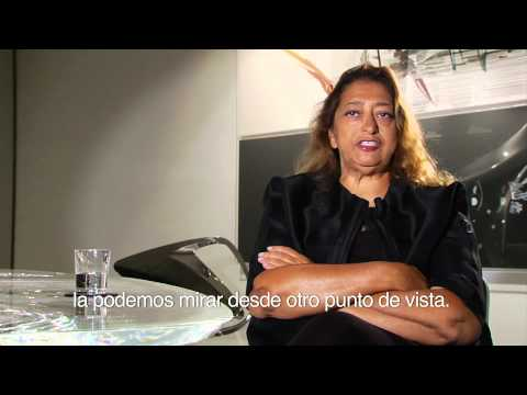 Entrevista a la arquitecta Zaha Hadid