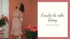 DIY - Coudre la robe Romy - Apolline Patterns
