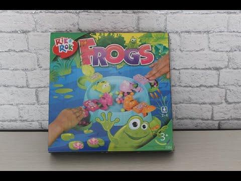 Настольная игра Голодные лягушки от компании Rik Rok