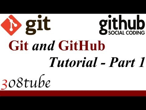 Git and GitHub Version Control Tutorial - Part 1