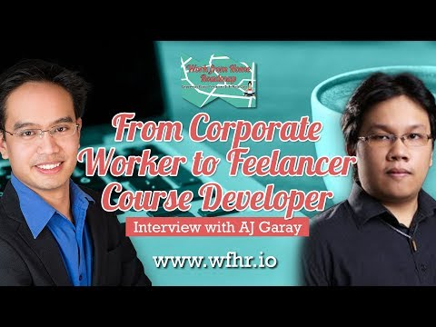 🔴 From Corporate Worker to Freelance Course Developer | AJ Garay | JasSuccess 018