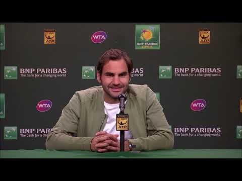 BNP Paribas Open 2018: Roger Federer QF Press Conference