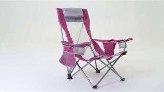 Kijaro Coast Folding Beach Sling Chair with Cooler [Camping Chairs we Love]