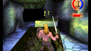 Warriors of might and magic gameplay [PS1 version]