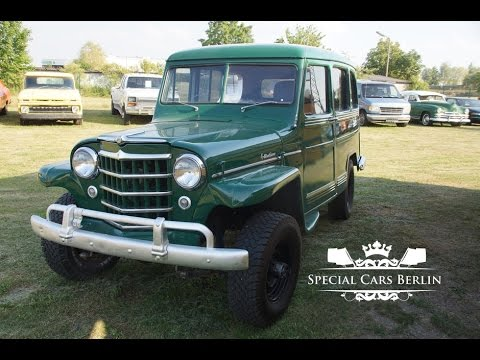 1953 Jeep Willys Station Wagon 4x4 Special Cars Berlin