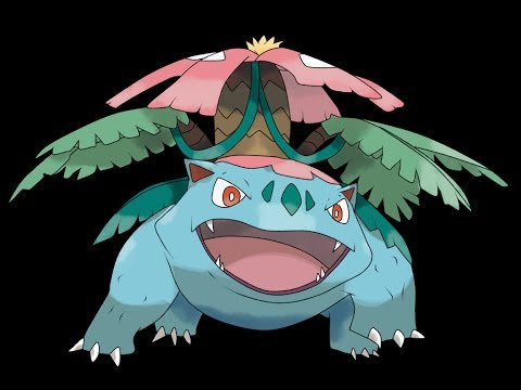 Pokemon X and Y - Venusaur Mega Evolution!! - YouTube