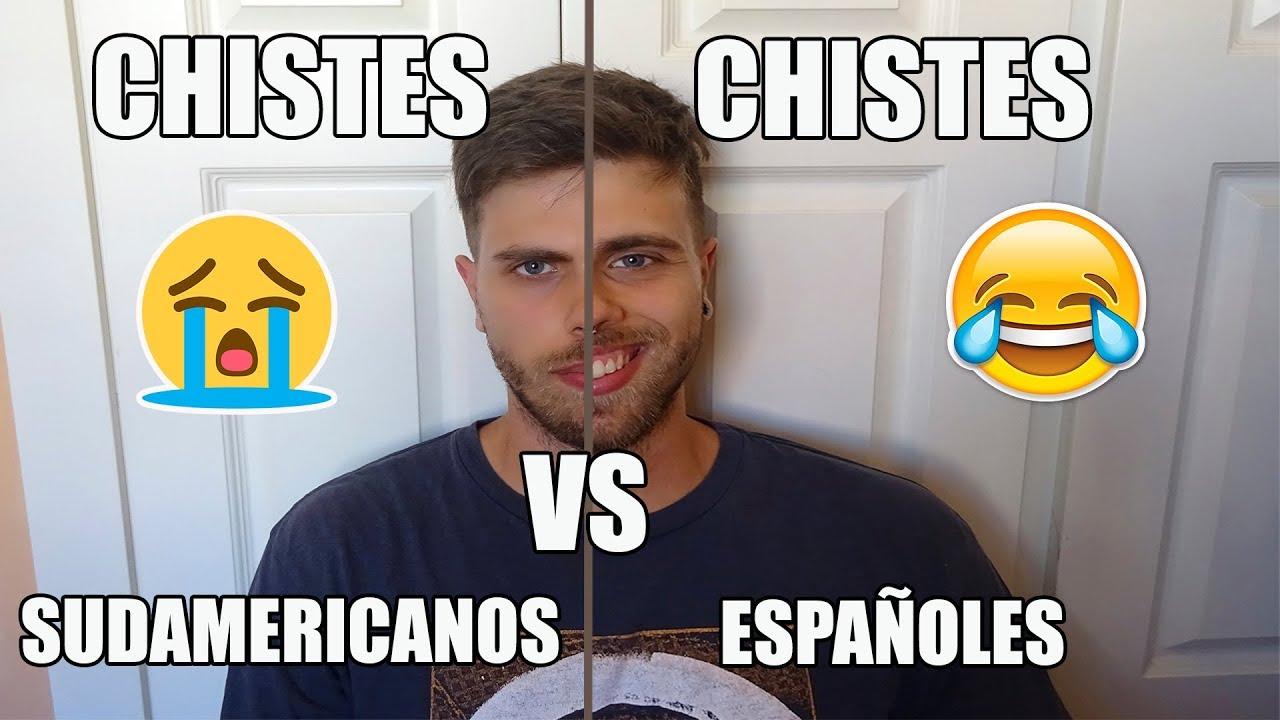 CHISTES ESPAÑOLES vs CHISTES LATINOS (Vuestros chistes)