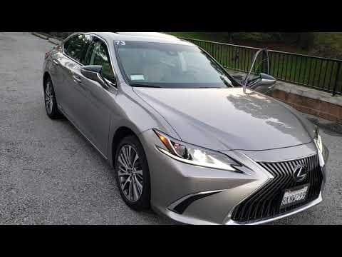 2019 Lexus ES300 Hybrid mpg and walk around review