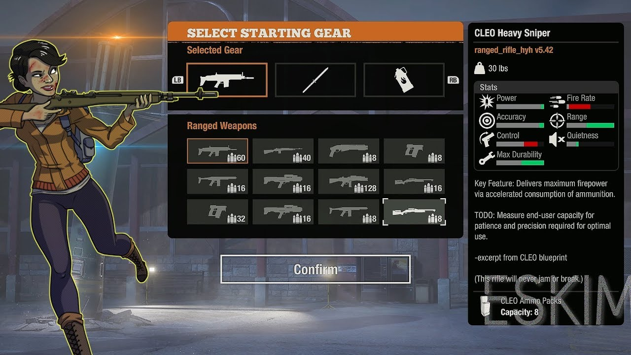 STATE OF DECAY 2: DAYBREAK ALL WEAPONS