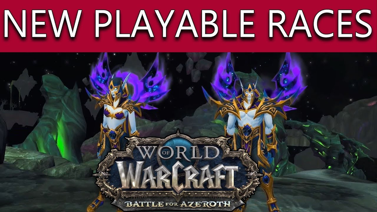world of warcraft new races