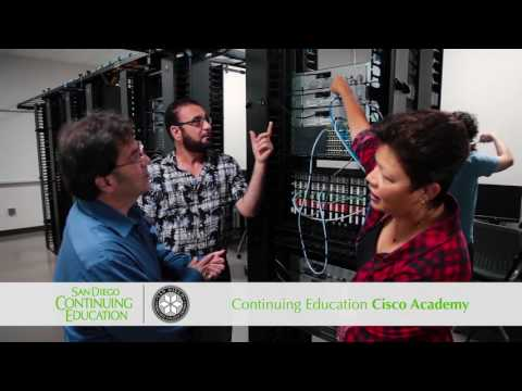 San Diego Continuing Education - Enroll Now (Cisco Academy)